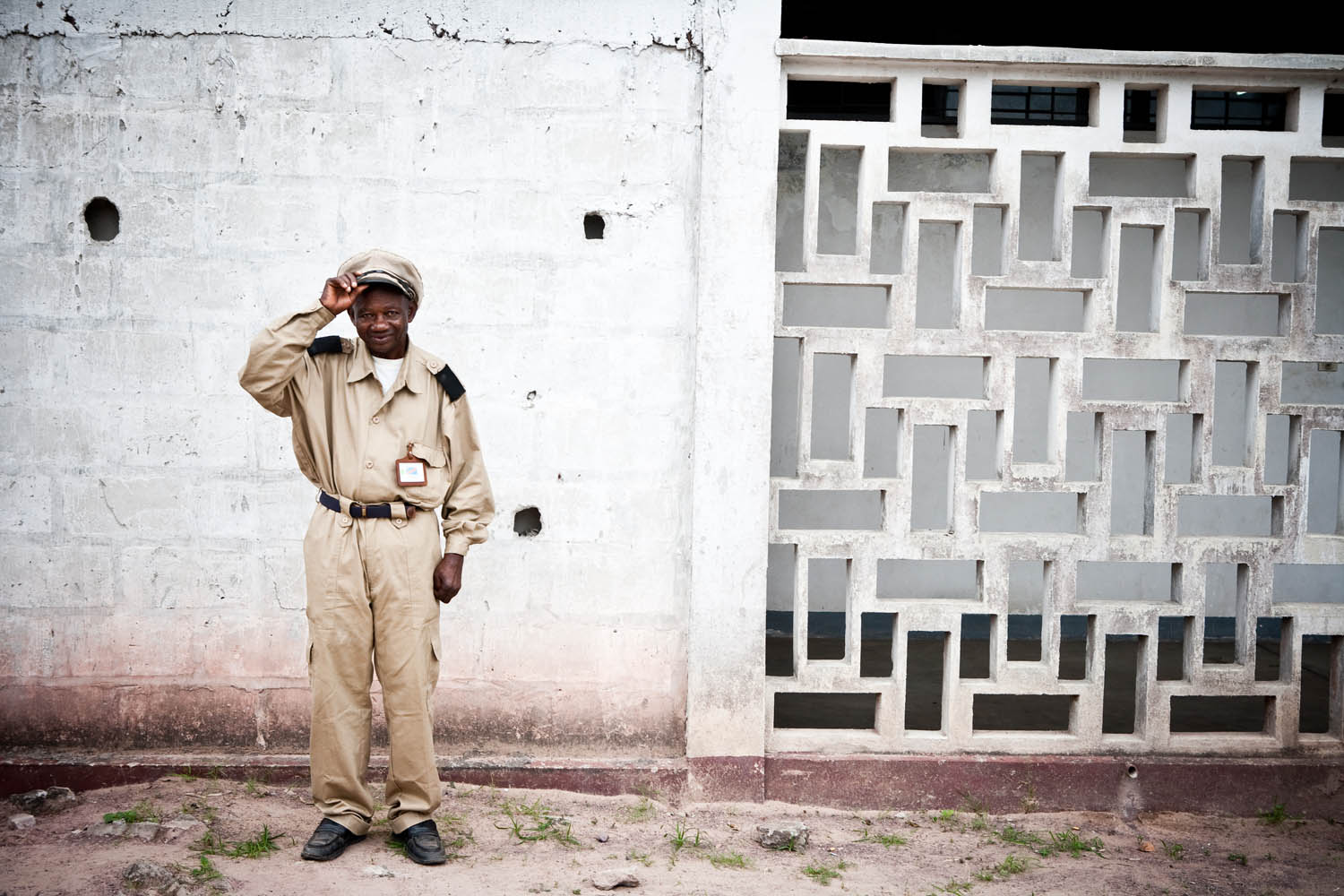As I walked through the gates of the Clinique Ngaliema in Kinshasa, DRC, I felt as though I had stepped back in time. The once white, now filthy grey walls of the old hospital, and Belgian architecture spoke volumes into a bygone era of colonization and F