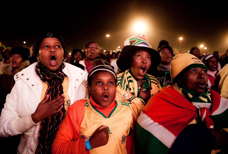 Fifa World Cup 2010 Day Six  - MTN Ekhasi TV, Khalehong and FFF Elkah Stadium)