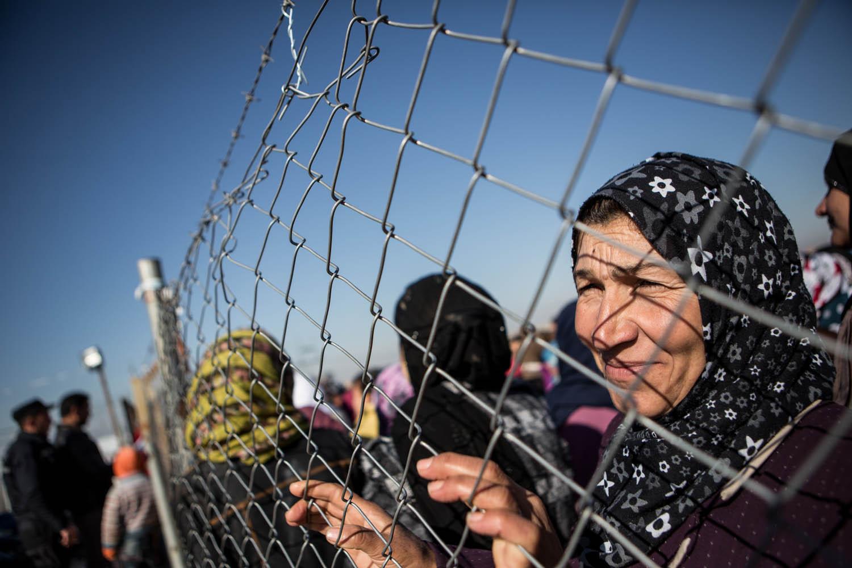 Domiz Refugee Camp, Kurdistan February 2014