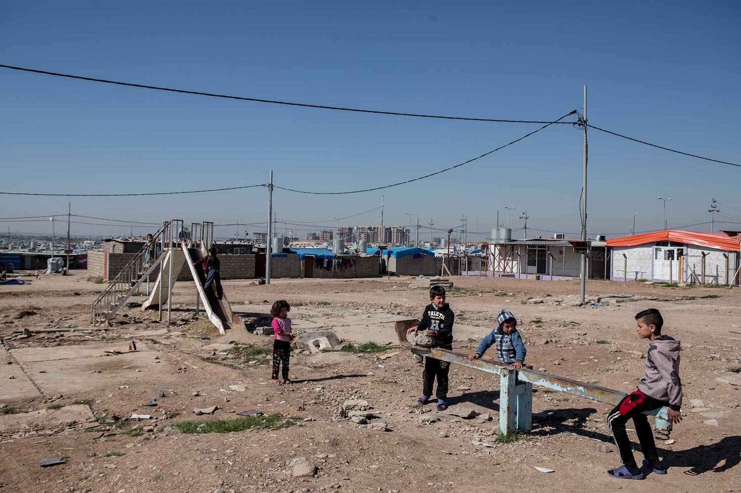 Domiz Refugee Camp, Northern Iraq February 2016