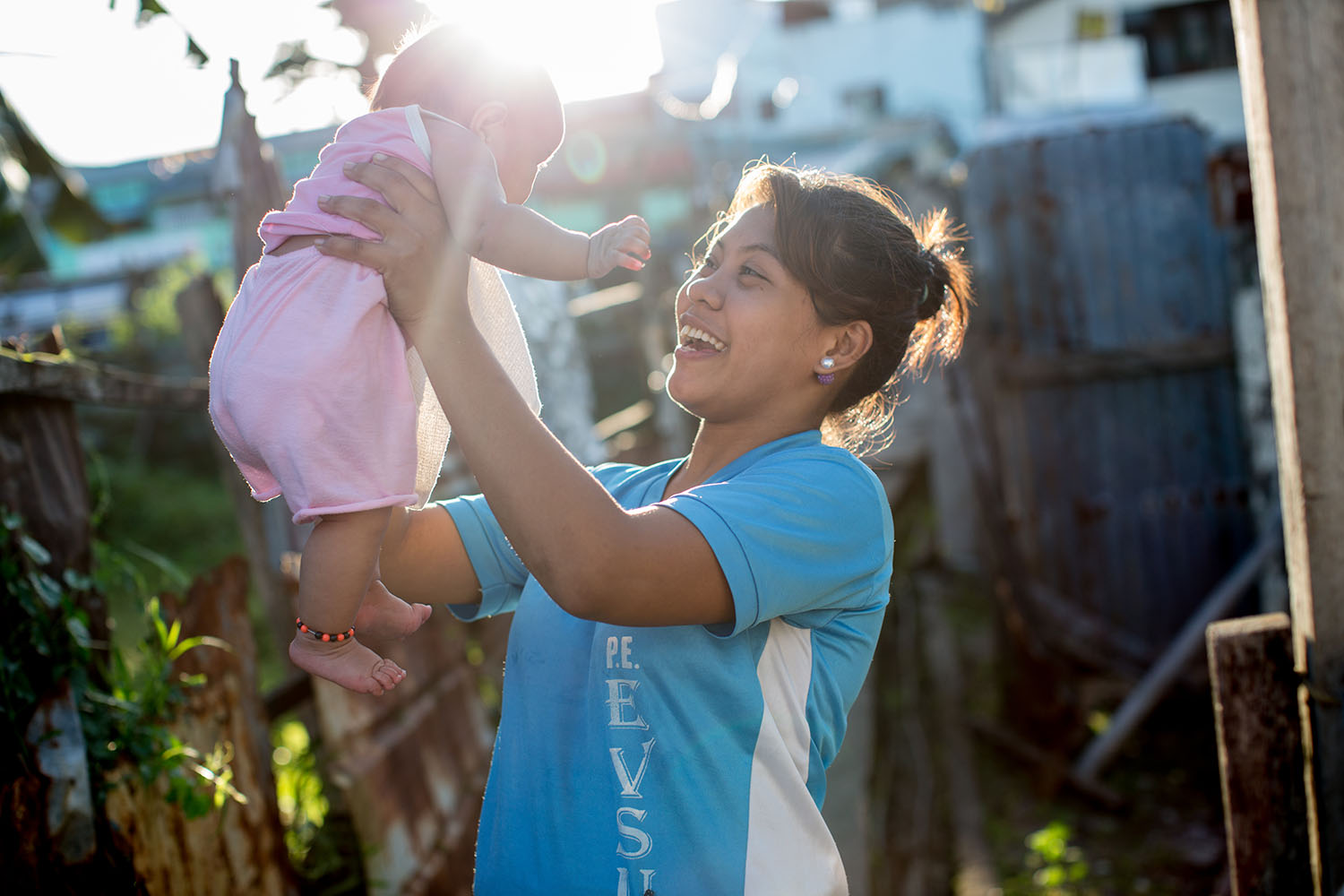 UNICEF trip to Tacloban, in the Philipines to report on their response to Typhoon Yolanda, March 2016