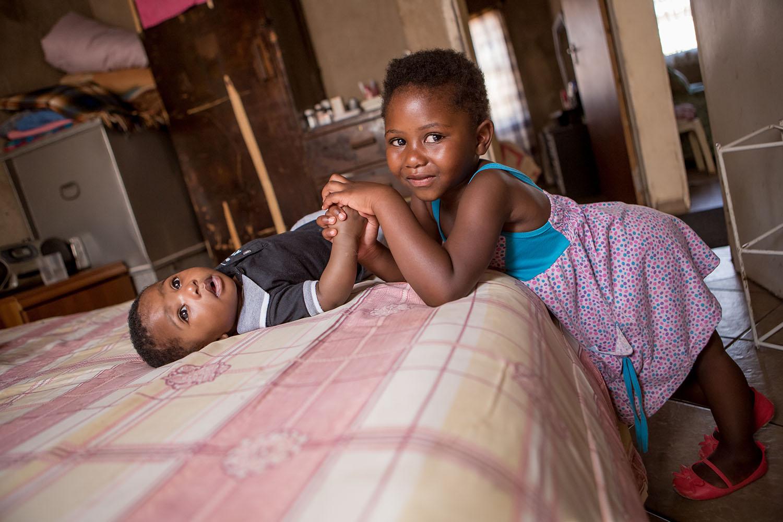 Beauty Nurse Mahlangu & family, Dark City Pretoria South Africa