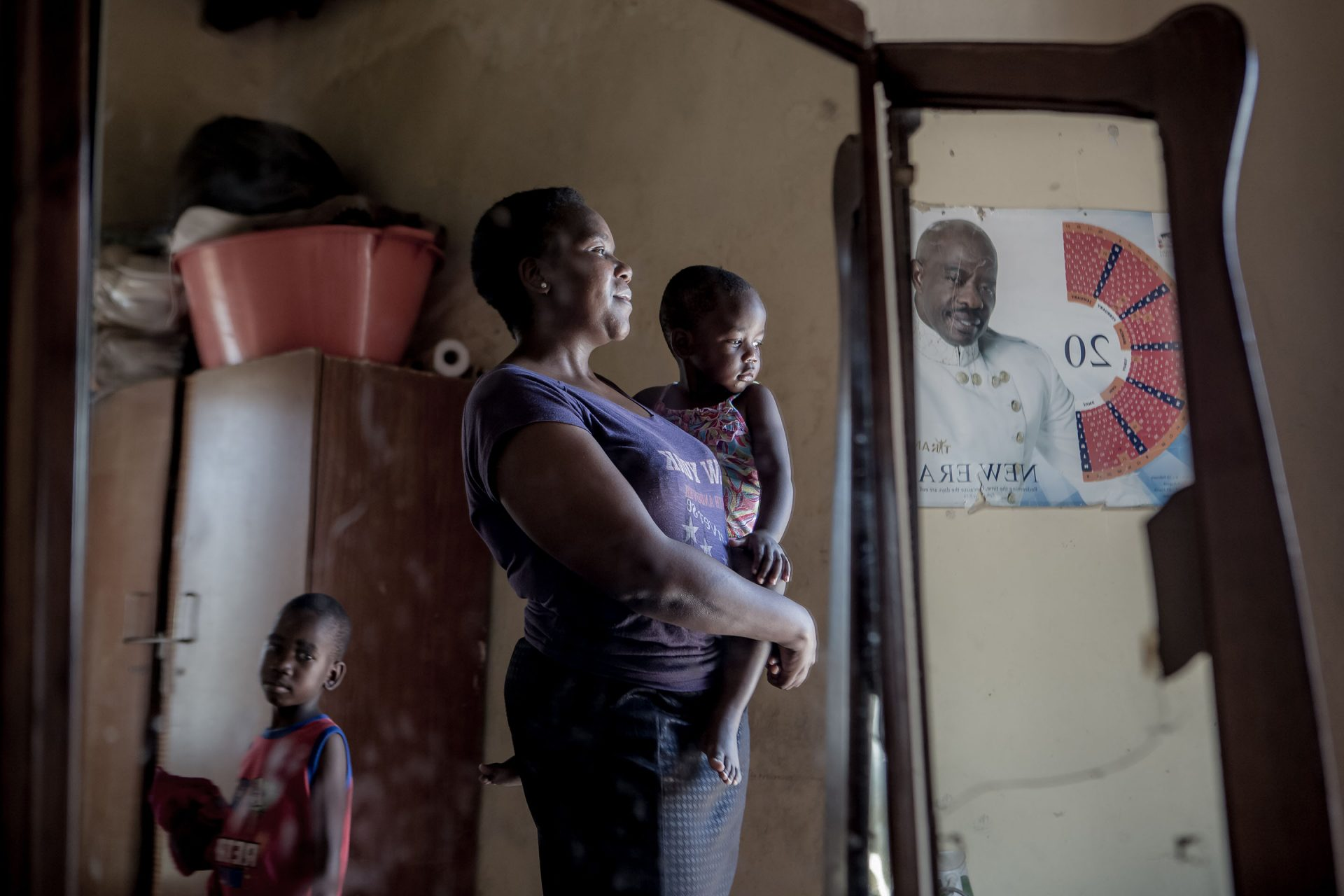 """""""My husband was an alcoholic. Last year he left me and my children. Now, I am trying to raise five children with no financial support. He doesn't even visit his children and he lives down the road,"""" says Mariam from Mpumalanga, South Africa.Nearly"""