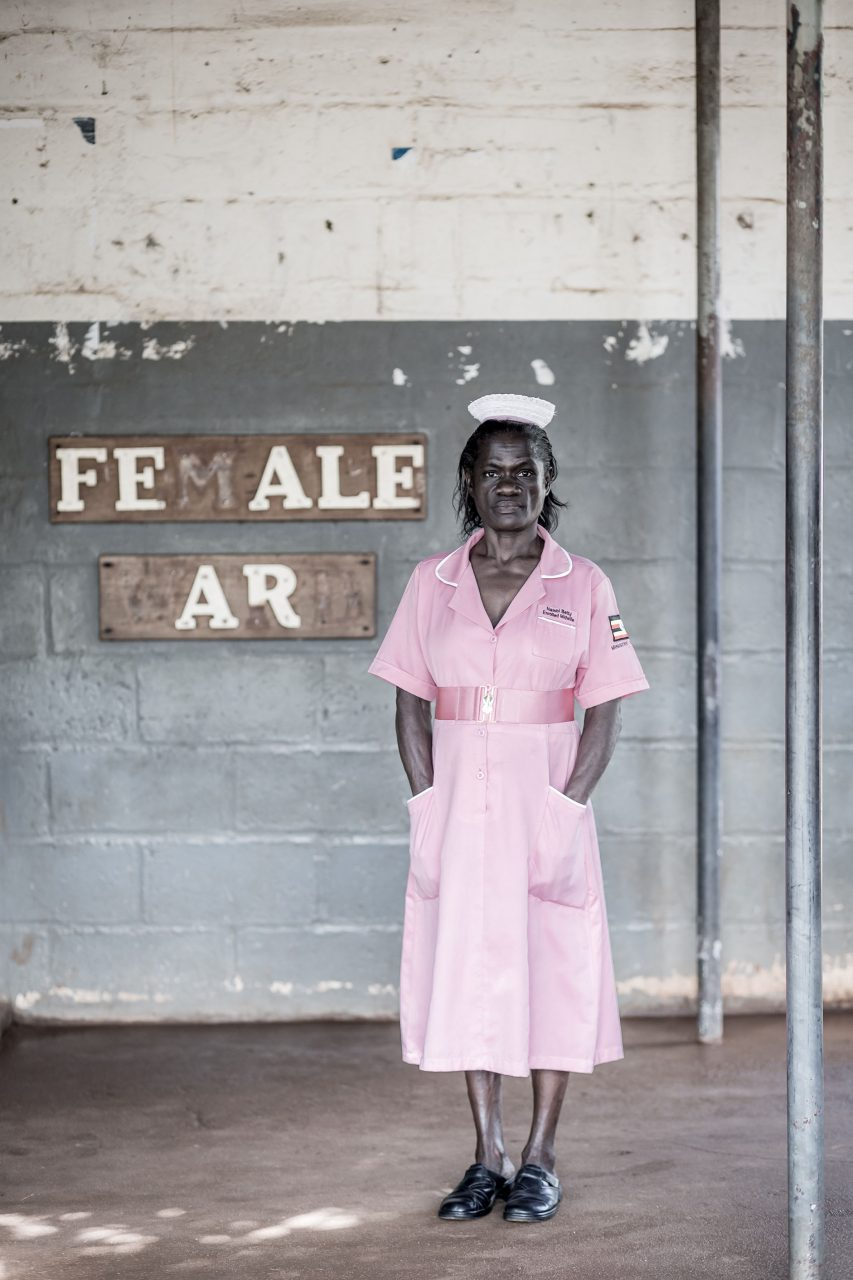 """""""Our dream is that many more women would enroll in this process, so that no babies are born with HIV any longer"""" – Nelly, midwife.Nelly is a midwife, working in a rural hospital in Jinja, Uganda, alongside mothers2mothers' Mentor Mothers and Com"""