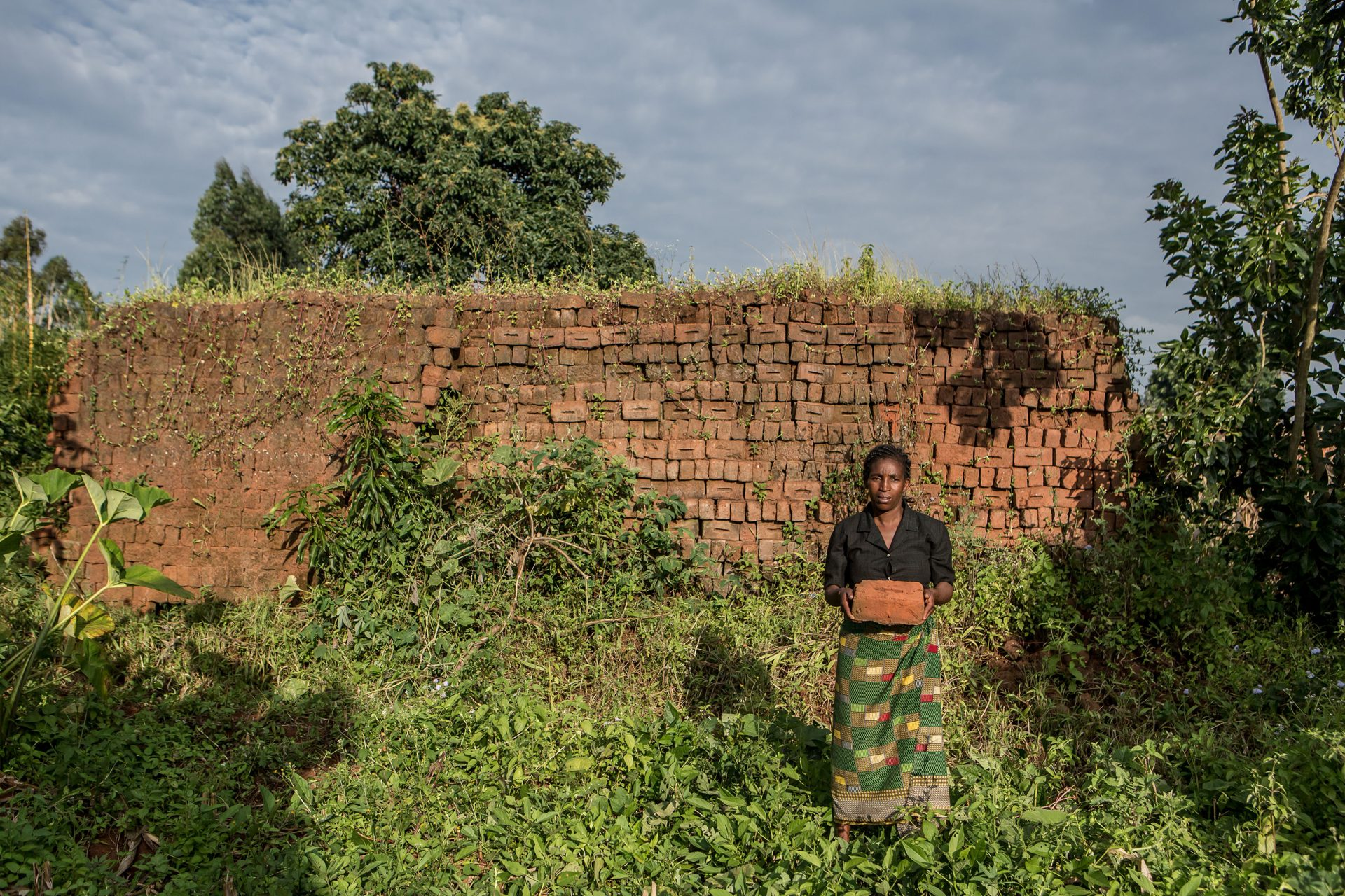 """The training changed my life and helped me to see how it was possible to live with hope. I never believed that I would ever get a job as an HIV-positive person. Now I am able to feed my family and I am hoping to build a house with the 1500 bricks I hav"